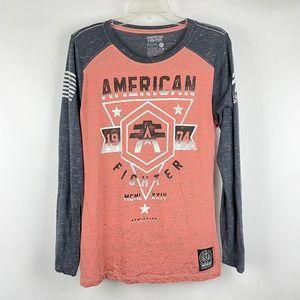 American Fighter Graphic Print Women's Shirt